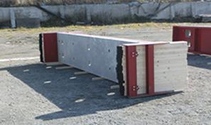 形状自在褄枠付鋼製型枠 (永久型枠パネル付)